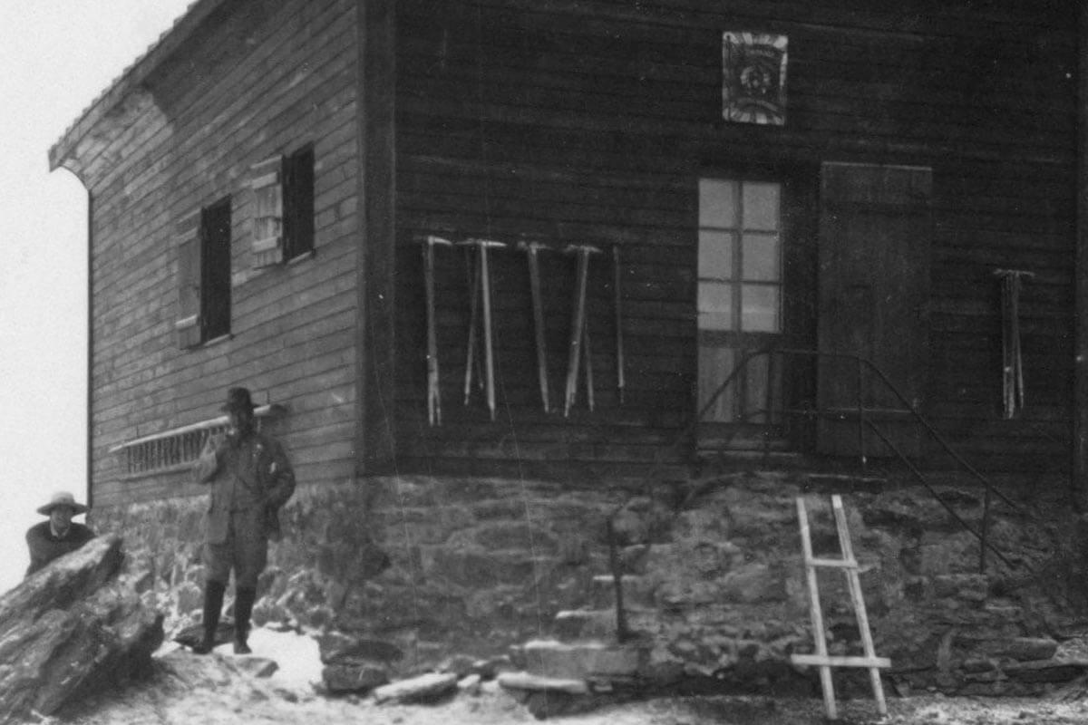 Britannia Hütte 1912